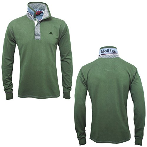 La polo Robe di Kappa - Erwin - Dark Green-Md grey m - S