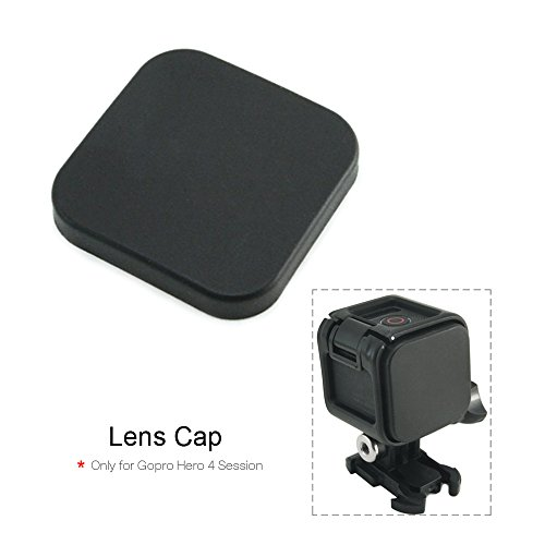 Hapurs discount duty free Hapurs Sports Camera Accessories Camera Caps Protective Cover Standard Protect Housing Lens Cover ONLY for Gopro Hero 4 Session