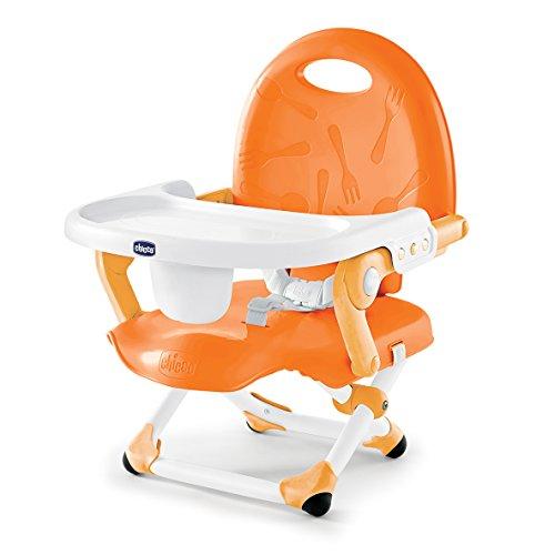 Best Deals! Chicco Pocket Snack Booster Seat, Orange