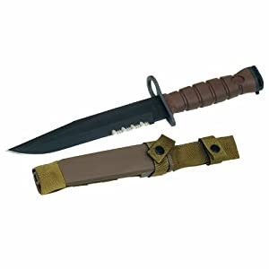 Amazon Com Ontario 6504 Okc3s Marine Bayonet Brown