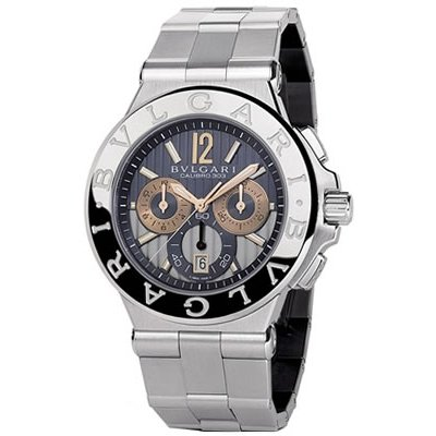 Bvlgari Diagono Chronograph Automatic Stainless Steel Dg42c14swgsdch