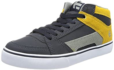 Etnies Mens Rvm Skateboarding Shoes 4101000241 Navy/Grey/Yellow 6 UK, 39 EU, 7 US
