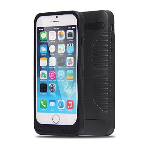 3500Mah External Battery Backup Charger Case Pack Power Bank For Iphone 6 4.7 Inch (Black)