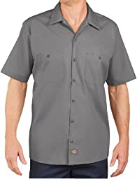 WD 4.25OZ SS WORK SHIRT (GRAPHITE GREY) (M)