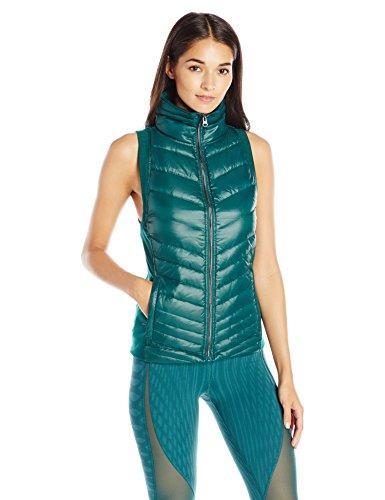 Alo Yoga Women's Altitude Puffer Vest, Ever Mint, Medium