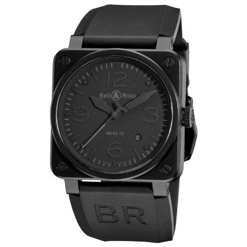 Bell & Ross BR-03-92-PHANTOM - Reloj , correa de goma