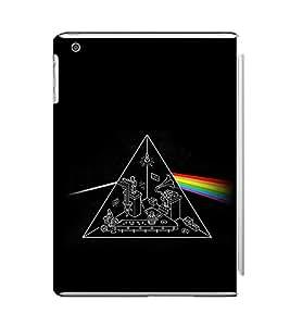 EPICCASE Prism rainbow Mobile Back Case Cover For Apple Ipad Mini 3 (Designer Case)