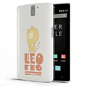 Koveru Back Cover Case for OnePlus One - Leo