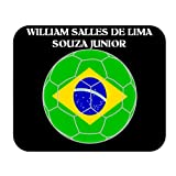 William Salles de Lima Souza Junior (Brazil) Soccer Mouse Pad