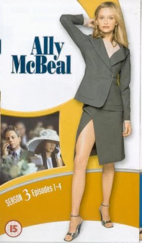 Ally McBeal - Season 3 (Box Set 1) [VHS] [1998]