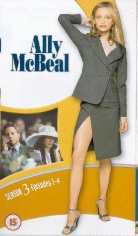 Ally McBeal - Season 3 (Box Set 1) [VHS] [1998]