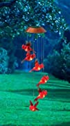 Garden Days Red Cardinal Lights Solar…