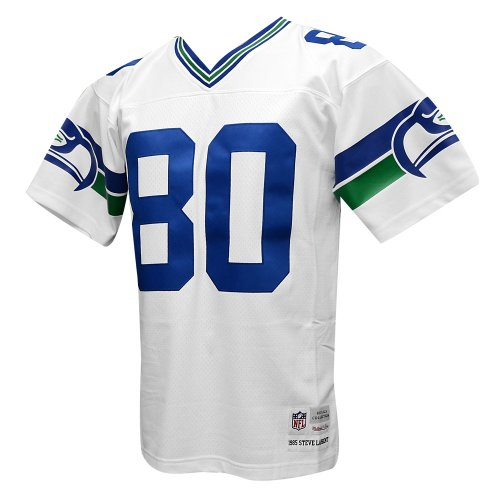 Seattle-Seahawks-Mitchell-Ness-1985-Steve-Largent-80-Replica-Throwback-Jersey-White
