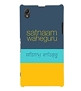 MakeMyCase Satnaam Guru-2 case For SonyXperia Z1