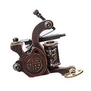 Pro cnc precise carving bronze tattoo machine for Amazon tattoo machine
