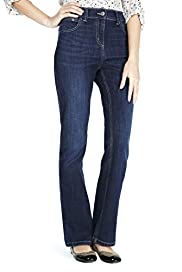 Slim Denim Bootleg Jeans