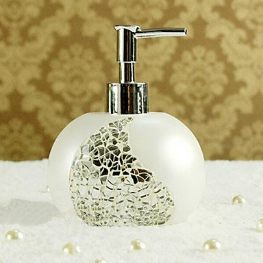 YangR* 1 Pezzo materiale di resina Dosatori del sapone,Accessori bagno