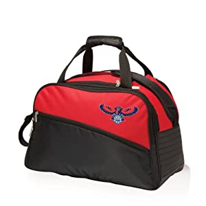 NBA Atlanta Hawks Tundra Insulated Cooler Duffel Bags, Red by Picnic Time