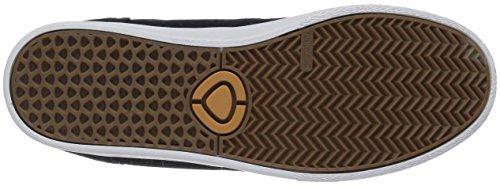 C1RCA Men's JC01 Skateboarding Shoe, Navy/White/Gum, 9 M US