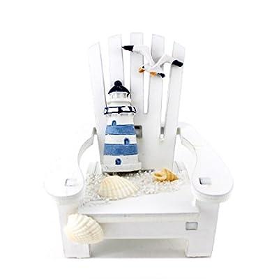 "Handmade Cute Lighthouse ""Sunshine Chair"" Home Decor Article,photograph Setting"