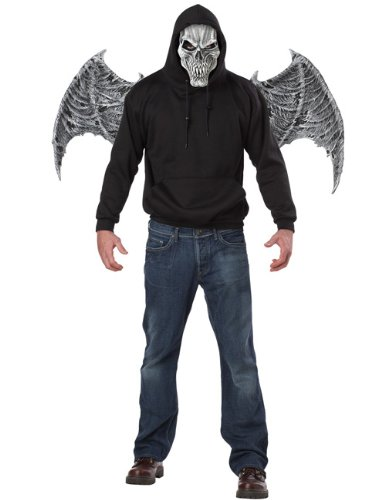 Tormentor Mask & Wings - Grey
