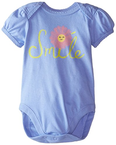The Children's Place Baby-Girls Infant Smile Talker, Capri Blue, 6-9 Months
