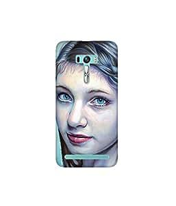 Kolor Edge Printed Back Cover for Asus Zenfone Selfie - Multicolor (4400-Ke11050ZenSelfieSub)