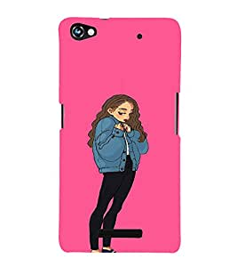 Ebby Premium Printed Back Case Cover With Full protection For Micromax Canvas Hue 2 A316 (Designer Case)