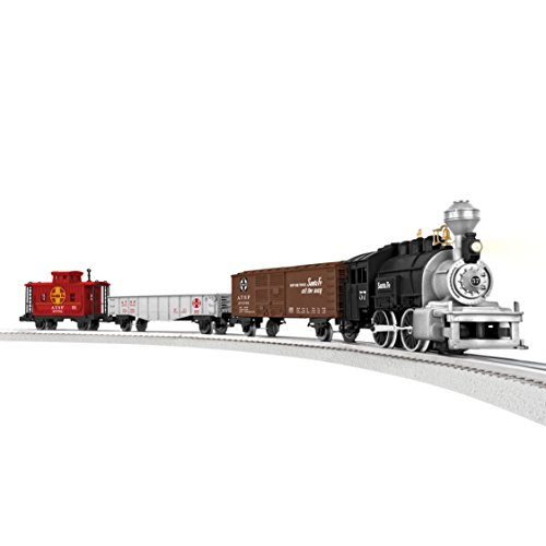 Lionel Junction Santa Fe Steam Train Set - O-Gauge (Steam Toy Train compare prices)