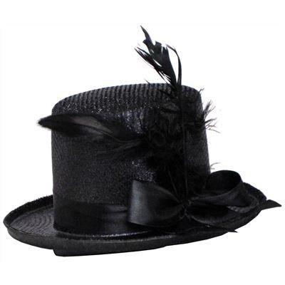 Women's Mini Glitter Top Hat Headband