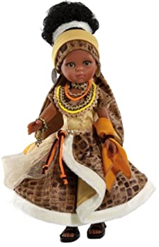 Paola Reina - 04555 - Poupée et Mini Poupée - Poupée Nora Costume Africain - Collection Les Amigas d'Epoque - 32 cm