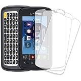 Pantech Marauder Screen Protector Cover, MPERO 3 Pack of Clear Screen Protectors for Pantech Marauder