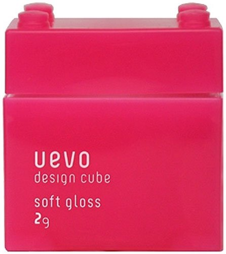 Uevo Design Cube Wax Soft Gloss 80g - 1