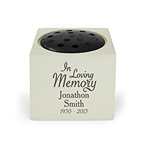 In Loving Memory Memorial Vase. This is a great product that can be personalised to your requirements ( please see main discription for full details ) Ideal gifts and presents for weddings, Christenings, Birthdays, Christmas etc...