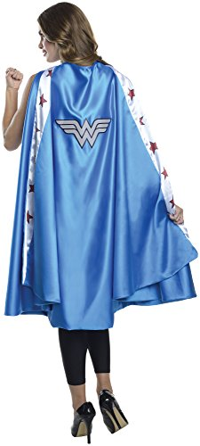 Rubie's Costume Co Women's DC Superheroes Deluxe Wonder Woman Cape