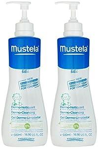 Mustela Bebe Range Dermo-Cleansing - 16.9 fl oz - 2 pk