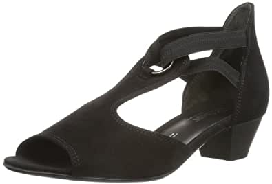 Gabor Shoes Gabor Comfort 86.561.47 Damen Sandalen, Schwarz (schwarz), EU 37 (UK 4) (US 6.5)