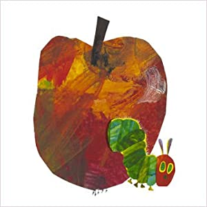 Eric Carle The Hungry Caterpillar Greeting Card Apple Amazon Co Uk Kitchen Amp Home