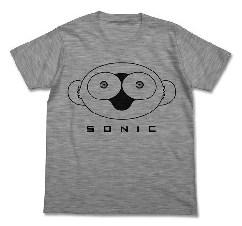 血界戦線 ソニック Tシャツ ヘザーグレイ サイズ:L