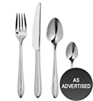 16 Piece Stainless Steel Atlanta Cutlery Set