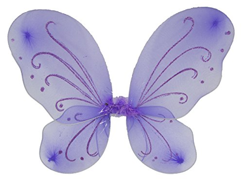 Lavender Sparkle Butterfly Fairy Wings