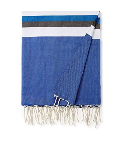 Nomadic Thread Cotton Throw Maxi Fouta, Indigo