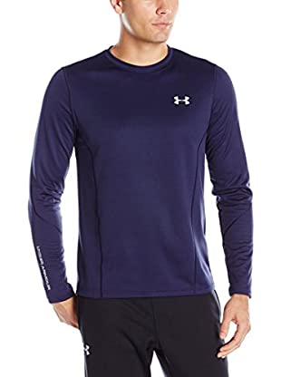 Under Armour Camiseta Manga Larga Ua Cgi Raid Fitted Ls (Azul Noche)