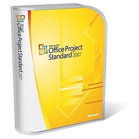 Microsoft Project Standard 2007 Version Upgrade [Old Version]