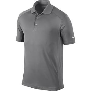 Nike Golf Men's Victory Polo PEWTER GREY/WHITE 2XL