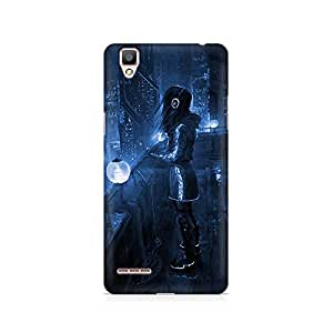 Mobicture Girl Abstract Premium Printed Case For Oppo F1 plus