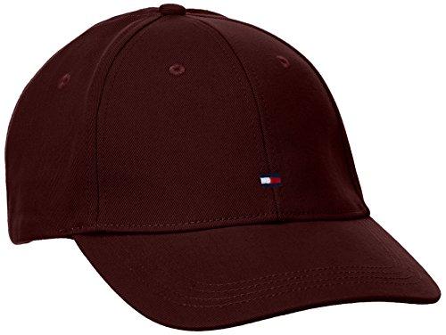Tommy Hilfiger Classic BB Cap, Berretto da Baseball Uomo, Rot (Tawny Port-PT 640), Taglia Unica