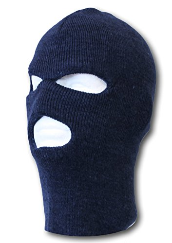 Face Ski Mask 3 Hole, Navy