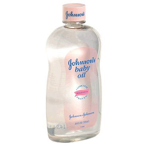 Johnson's Baby Oil, 20 fl oz (591 ml) (Pack of 2) - 1