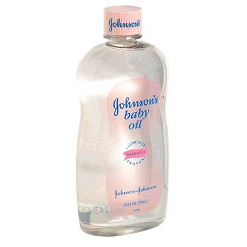Johnson's Baby Oil, 20 fl oz (591 ml) (Pack of 2) - 1